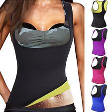 Women Neoprene Body Shaper Hot Waist Trainer Slim Yoga Sauna Vest Underbust Top