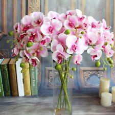 1pcs Cheap Orchid Bouquet Cymbidium Artificial  Flower Party Decoration
