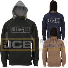 JCB Horton Heavyweight Hooded Mens Sweatshirt Hoody Hoodie Workwear Top Work