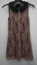 BNWT Mink Lace Dress From Miss Selfridge