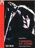 """FABRIZIO DE ANDRE'  """" LE VOCI DEL TEMPO""""  DVD + LIBRO"""