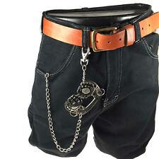 Mens Headphone Gernades Design Biker Belt Hanging New Jean Chain Punk Rock