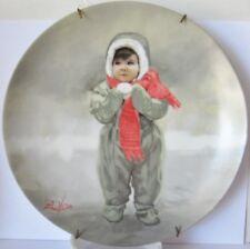 Donald Zolan Winter Angel Plate 3rd Wonder of Childhood