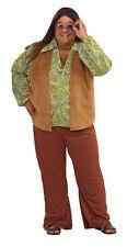 Groovy Guy Hippie 60's Plus Size Adult Costume