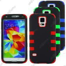 Coque Housse Etui Hybrid Anti Choc Triple Couche Samsung Galaxy S5/S5 New