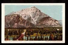 1902 bridge cascade mountain alberta canada postcard