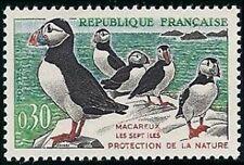 "FRANCE N°1274 ""OISEAUX, MACAREUX-MOINES"" NEUF xx TTB"