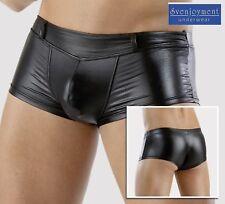 Svenj. Men´s Wear Wetlook Master Hipster Pants eng anliegend NEU in S M L XL XXL