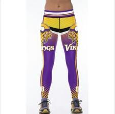 New Wide belt Legging Minnesota Vikings NO.8 printed high waist legging S-XL 825