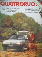 Quattroruote 337 1983 Fiat Regata 1300/1600,Alfetta Quadrifoglio,Chevrolet