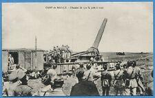 CPSM: Camp de Mailly - Obusier de 370 m/m prêt à tirer