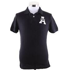 Aeropostale Men Short Sleeve Solid AERO Polo Shirt Style 4551 $0 free Shipping
