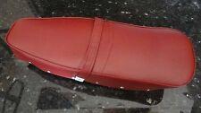 Lambretta complete long RED seat saddle  LI TV GP SX DL