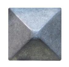 """Upholstery Decorative Tacks Nails Nail Hd 3/4"""" 5/8""""Antique Pewter Square Pyramid"""