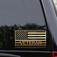 Veteran American Flag Decal Sticker USA Army Marines Navy Window Laptop