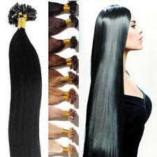 1gr Keratin Bonding Extensions REMY Echthaar 45 - 60cm Strähnen Haarverlängerung