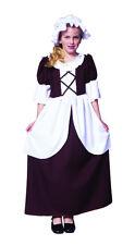 COLONIAL GIRL COSTUME CHILD PEASANT PILGRIM PIONEER PRAIRIE COSTUMES 91130