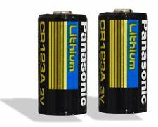 "Panasonic CR123A Lithium 3V Photo Lithium Batteries , 0.67"" Dia x 1.36"" H"