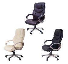 HOMCOM Luxury Home Office Desk Chair PU Leather Armrest Adjusable Function NEW