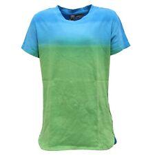 6762R maglia bimbo DONDUP DQUEEN DKING verde/blu t-shirt kid