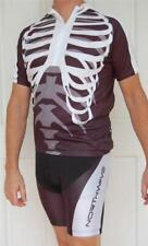 Cycling Bike short Sleeve Jersey Knicks pants Kit set White & Bones UNI L XL XXL