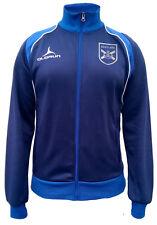 Olorun 6 Nazioni Scozia Tifosi Rugby Retro Giacca Blu scuro/Reale Taglia S-3XL