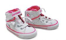 Bebés Converse Ct piezas lazo encaje - 741702c - Blanco Rosa Zapatillas