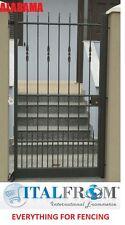 Portail électrique galvanisé fer forgé (Alabama)