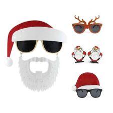 Divertido Fiesta Navidad Santa Reno Novedad FOTO Accesorio Disfraz Gafas