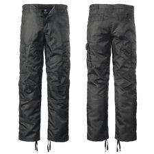 Brandit Thermohose schwarz S-3XL Skihose MA1 Nylon Outdoor Winter Hose gefüttert