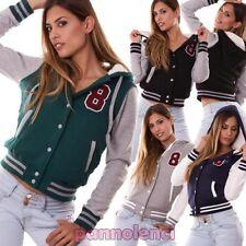 Chaquetón chaqueta de mujer chaqueta acolchado fútbol capucha nuevo CR-592