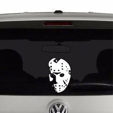 Friday the 13th Inspired Jason Hockey Mask Halloween Vinyl Decal Sticker