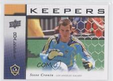 2008 Upper Deck MLS Goal Keepers #KP-9 Steve Cronin LA Galaxy Rookie Soccer Card
