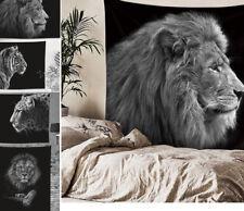Decorative Tapestry Wall Hanging Art Boho Hippy Beast Animal Lion Tiger Leopard