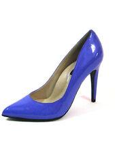 "Highest Heel Womens 4"" Plain Pump Lilac Patent PU Shoes"