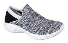 Skechers You - Weiß / Schwarz Textil, Weite: normal Textil