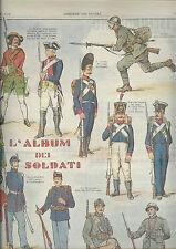 corriere dei piccoli anni 30   FANTERIA ITALIANA        soldatini ottimo!!