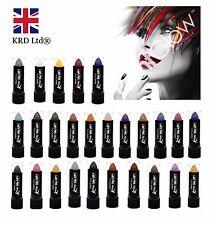 Genuine PaintGlow KISS ME UP LIPSTICK Rave Party Paint Lip Glow Shimmer Matte UK