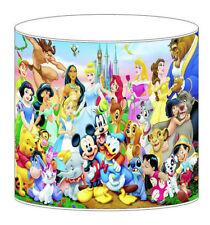 Disney Mickey Mouse Princesse Roi Lion Children's abat-jour Plafonnier
