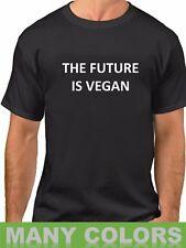 The Future Is Vegan T-Shirt Funny Veggie Lovers Shirt Christmas Gift Shirt Idea