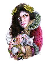 Lorde Painting Art Indie Pop Singer Music Huge Giant Print POSTER Affiche