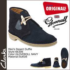 Clarks Original ** DESERT DUFFLE BOOTS ** NAVY SUEDE COMBI ** UK 7,8,8.5,9,9.5 F