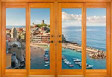 Stickers window trunk the eye Port sea ref 2543 ( 10 dimensions )