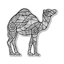 Camel Art Vinyl Sticker - SELECT SIZE