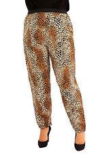 PLUS Size Leopardati Harem Pants