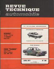 RTA Revue Technique Automobile No 366 Renault 17 TL TS 17 Gordini et Ford Taunus