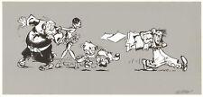 Ex-libris VERRON Hommage Boule et Bill signé 14x29