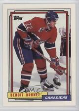 1992-93 Topps #137 Benoit Brunet Montreal Canadiens Hockey Card