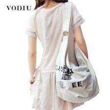 Bags Korean Over Shoulder Canvas Crossed Body Large Capacity Messenger Handbags