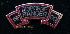 US ARMY AIRBORNE RANGER INFANTRY COMPANY HAT PIN KOREAN WAR VETERAN GIFT WOW